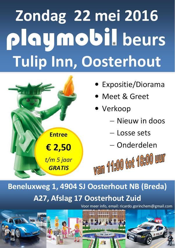 Playmobil beurs 22 mei 2016 Oosterhout