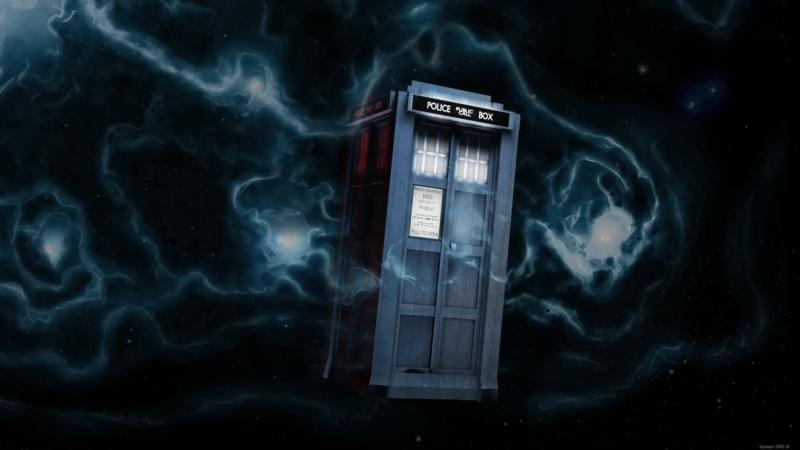 Dr Who Tardis 2