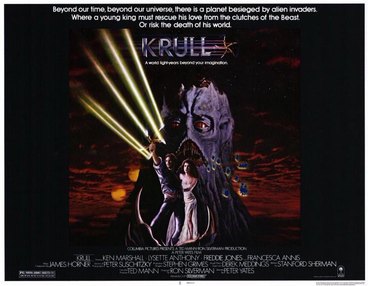 krull movie poster