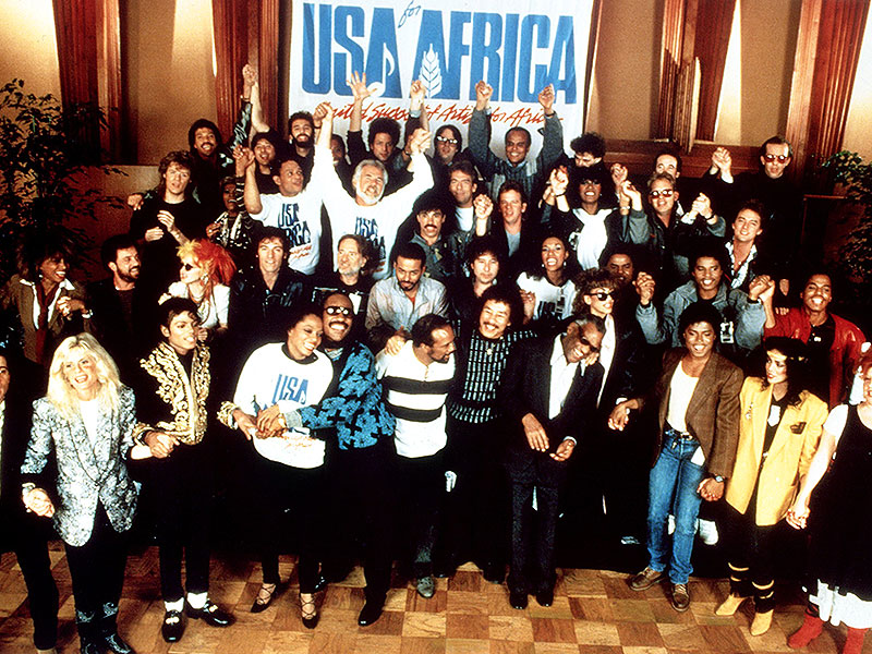 Live Aid We Are The World