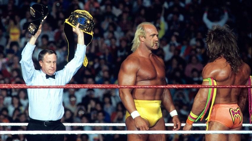 Hulk Hogan Warrior Wrestlemania VI