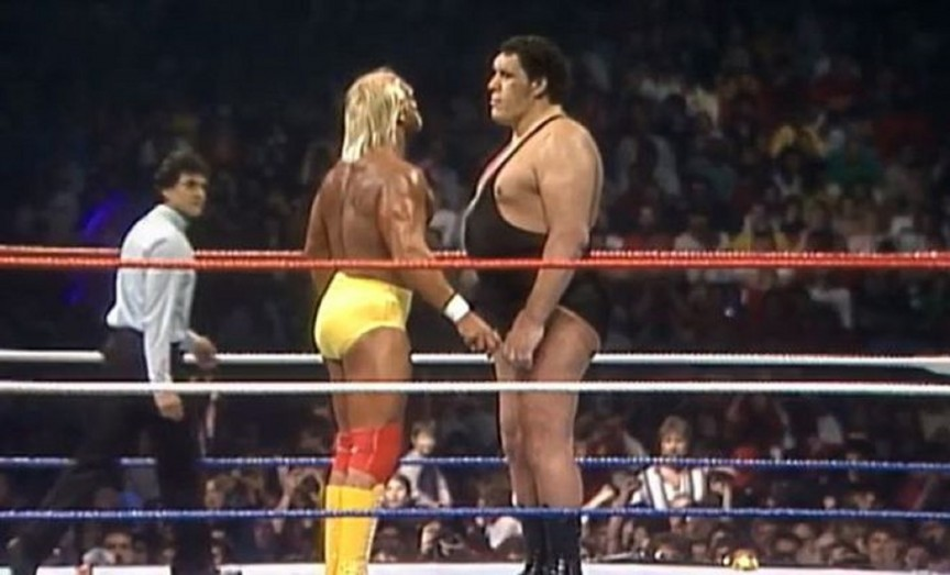 Hulk Hogan versus The Giant