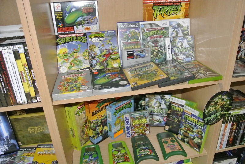 Teenage Mutant Ninja Turtles Shelfporn