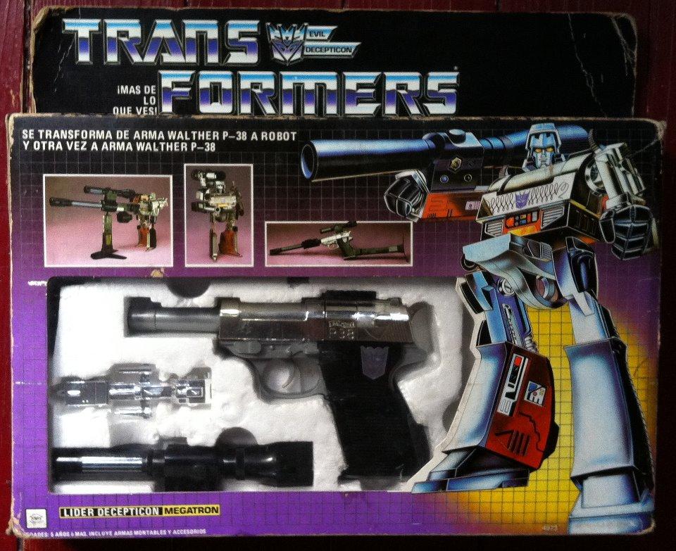 Transformers Megatron Vintage Toy