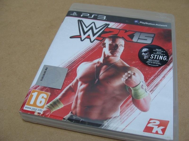 WWE 2K15 John Cena Sting