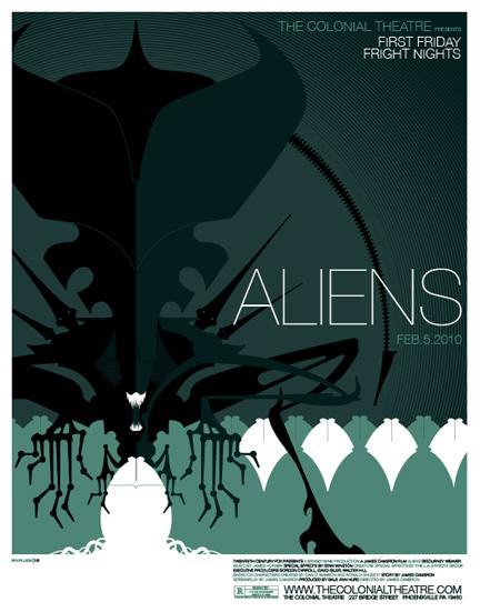 Aliens Movie Poster Custom