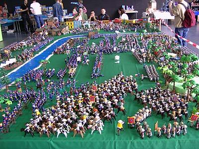 Playmobil diorama Ricardo Ramos