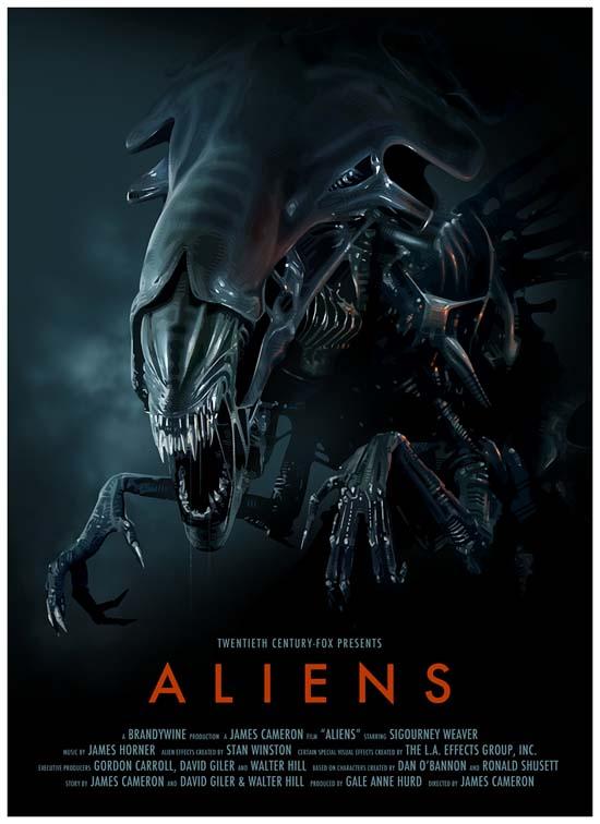 Aliens 1986 Movie poster