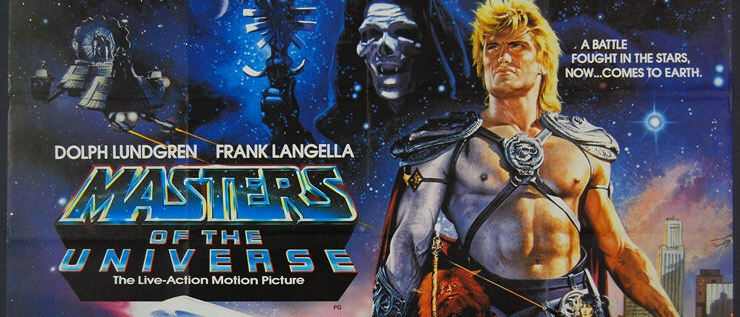 He-Man Masters Of The Universe Movie Poster
