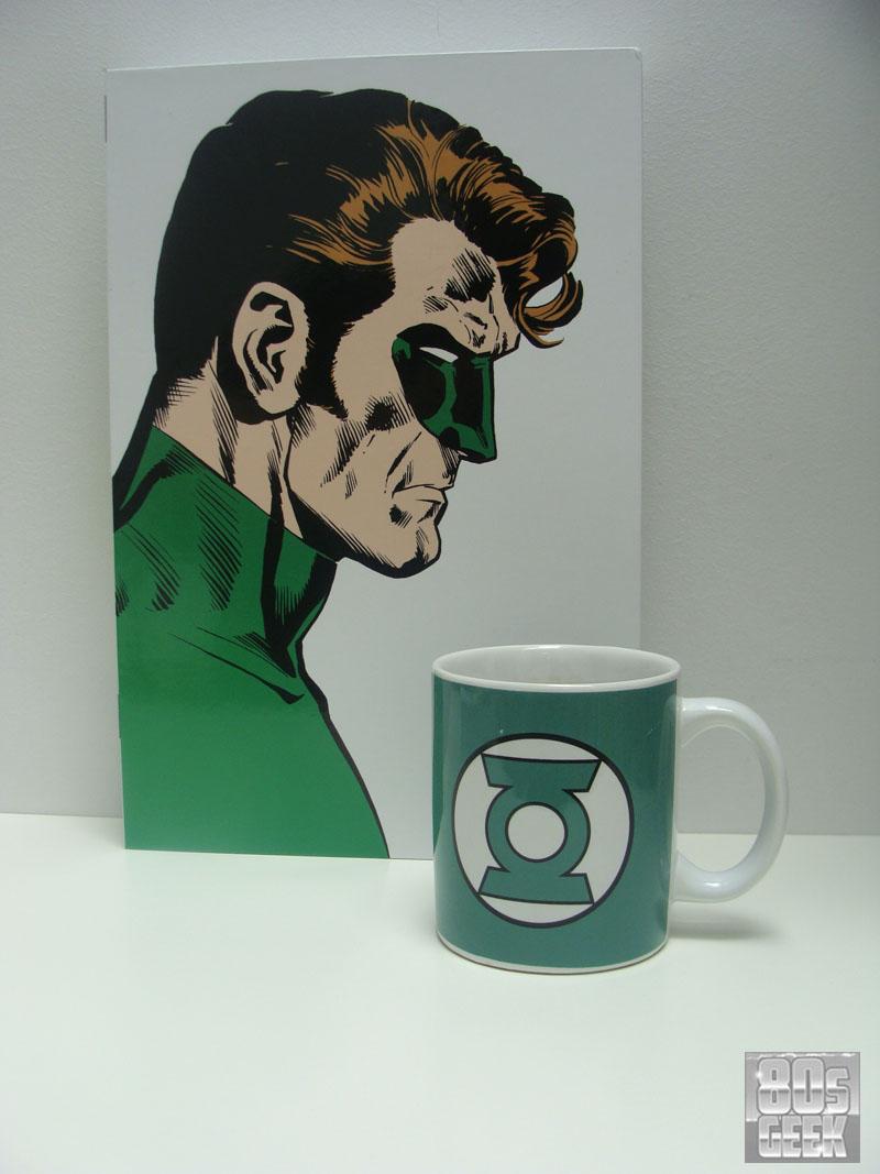 Mugshot Green Lantern