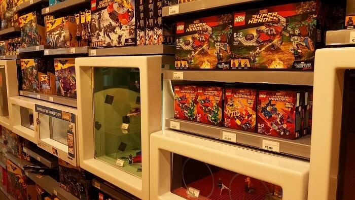 LEGO store Wijnegem shopping
