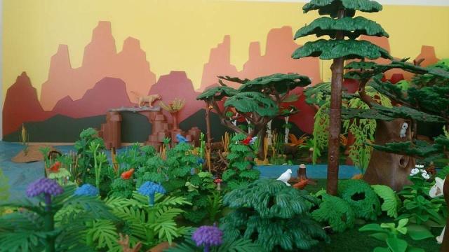 Playmobil diorama bos
