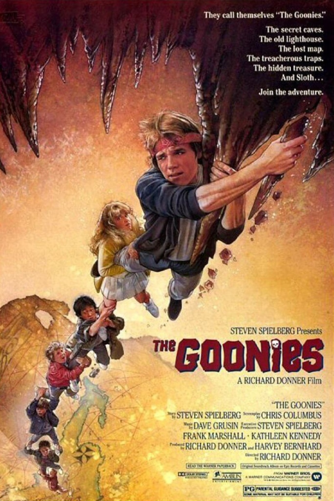 The Goonies Movieposter