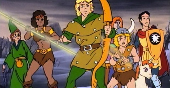 Dungeons&Dragons Tag tv series