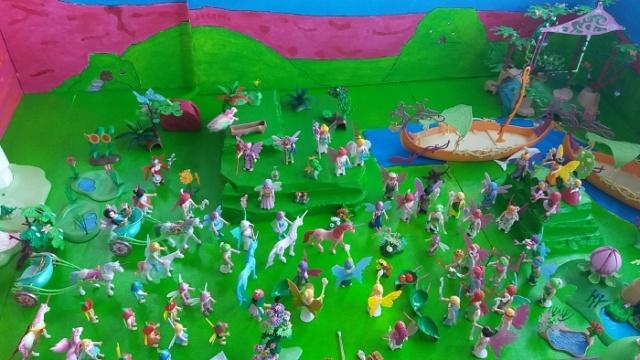 playmobil inspiratie diorama feeën