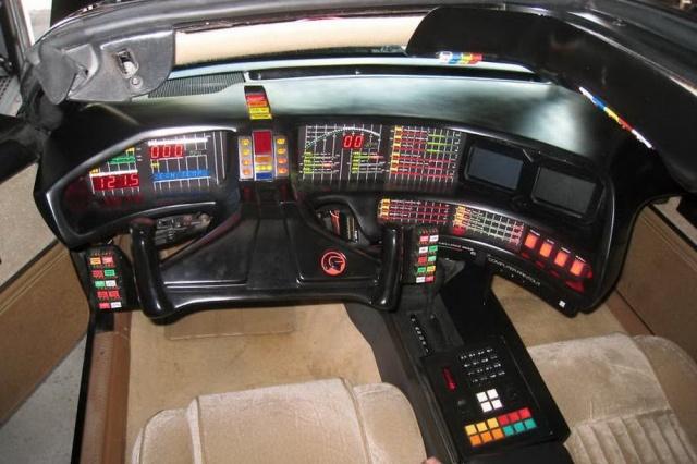 KITT Knight Rider interior