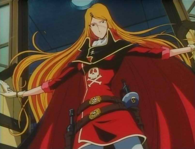 Queen Emeraldas Anime