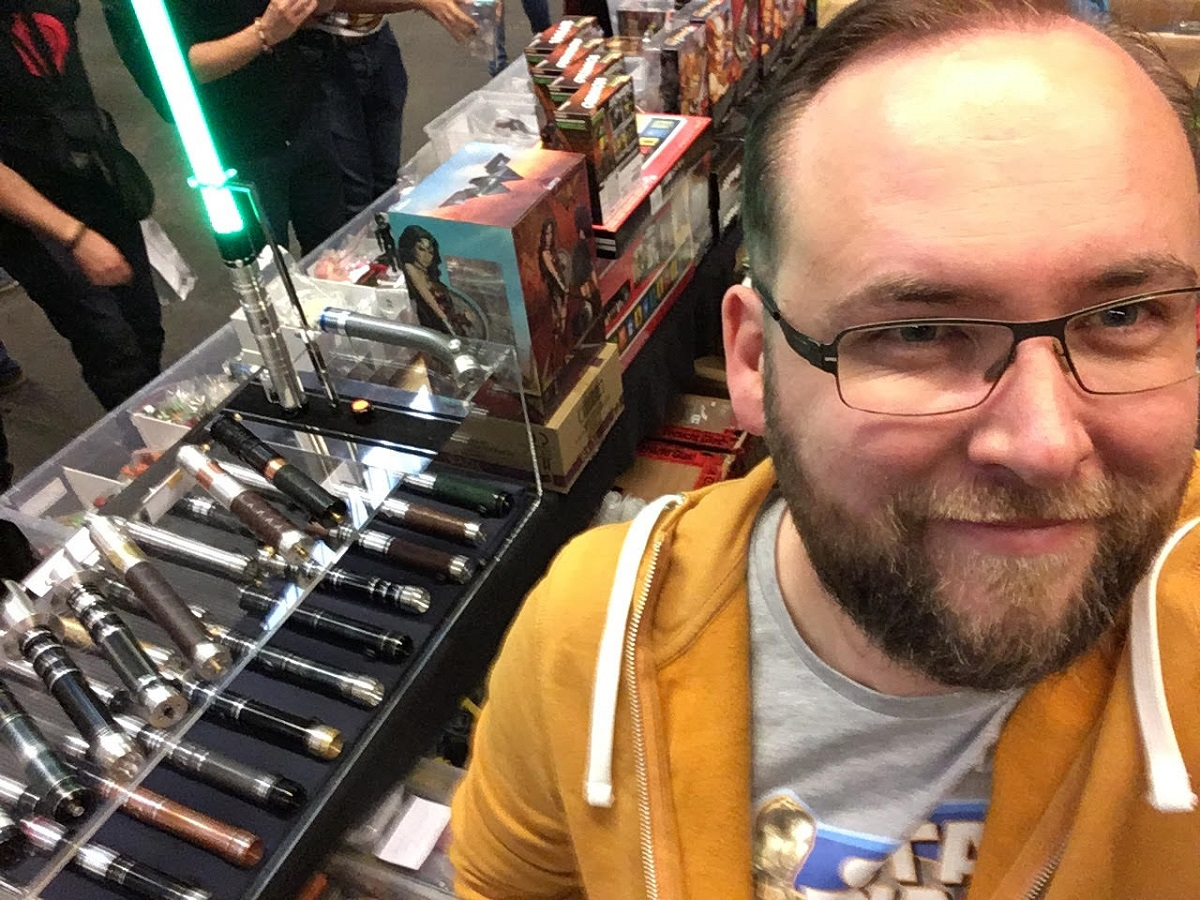 Jeffrey Van Hove Selfie