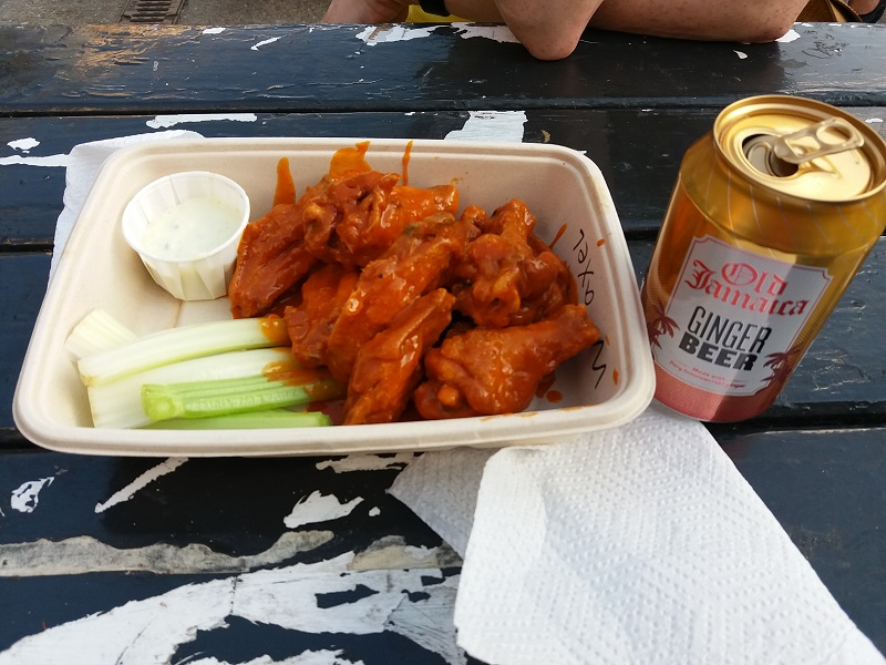Buffalo Wings Orange Buffalo London