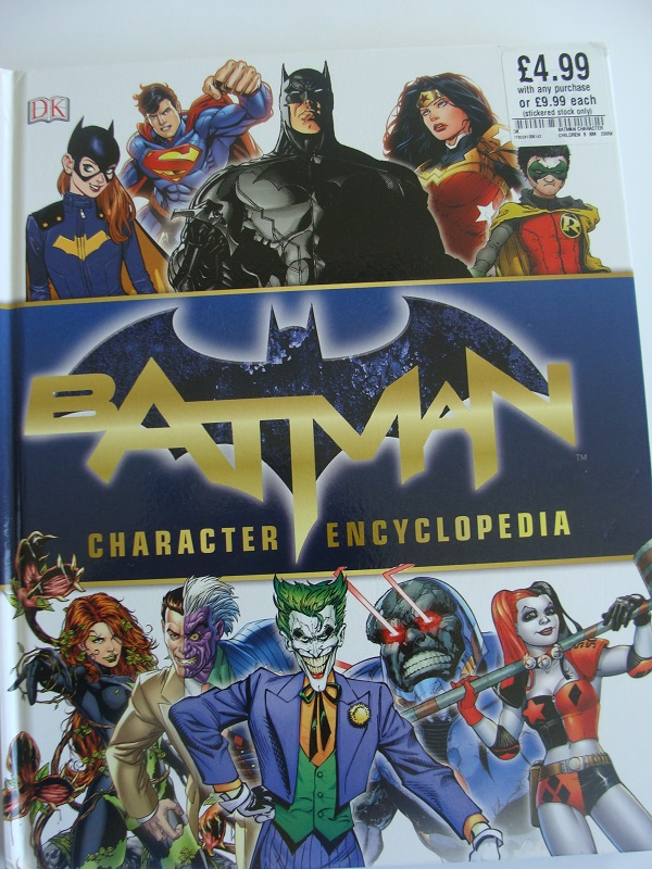 Batman Visual Character Encyclopedia