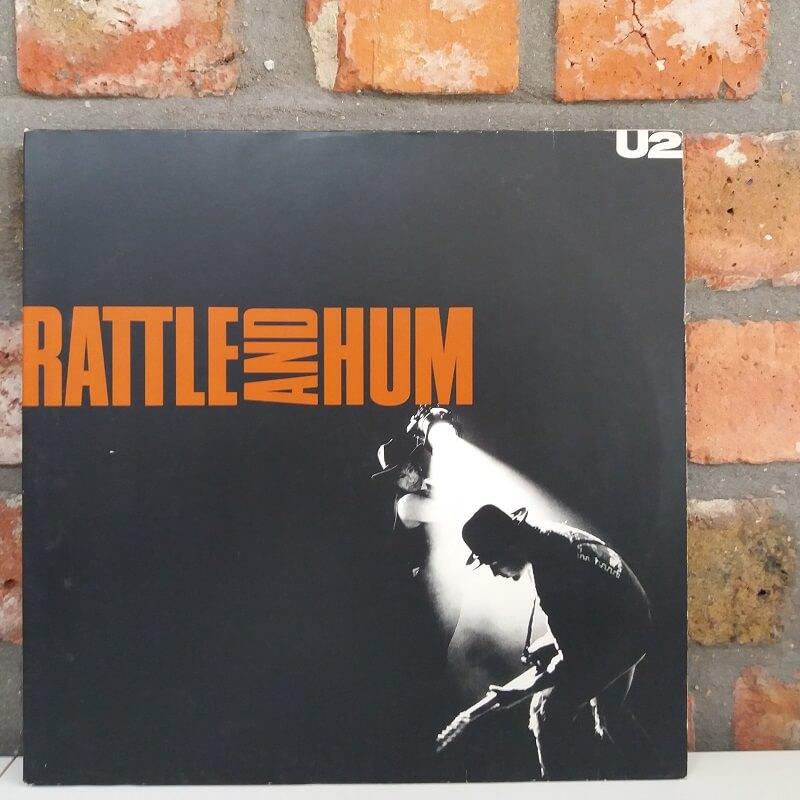 Rattle & Hum U2 vinyl