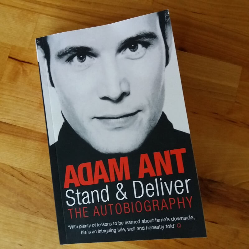 Stand & deliver Adam Ant leesstapel update