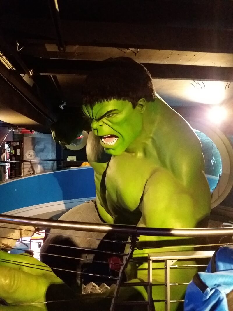 Madame Tussauds London Hulk