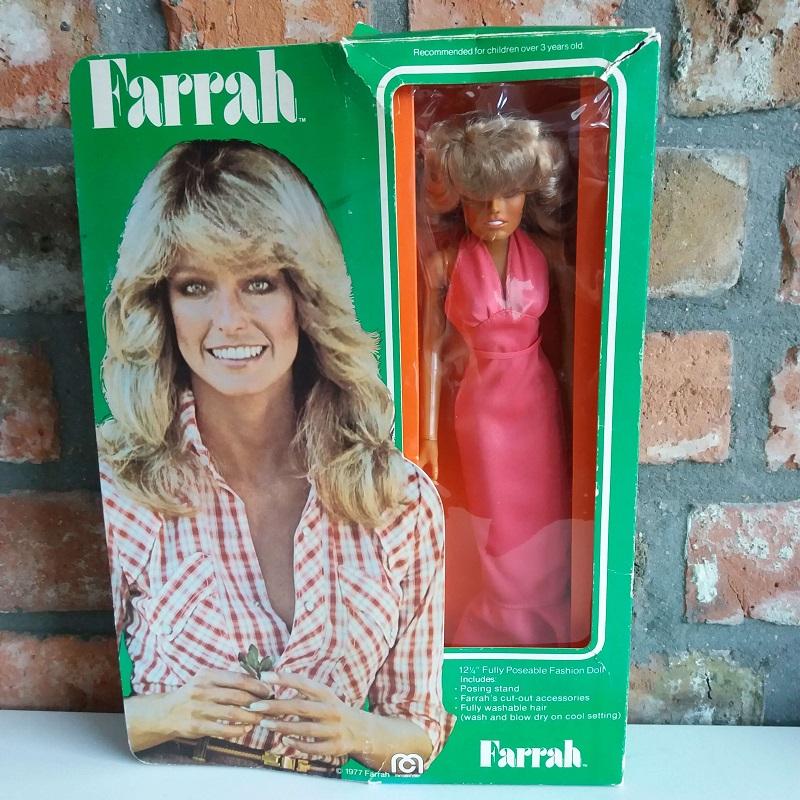 Farrah Fawcett Mego doll 70ies