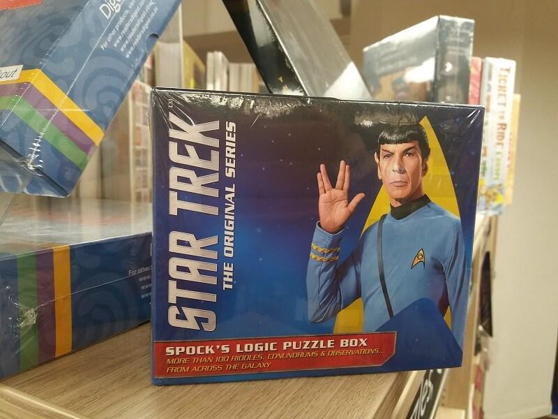 London Shopping Star Trek Foyles for Books