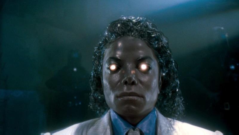 Michael Jackson Moonwalker robot