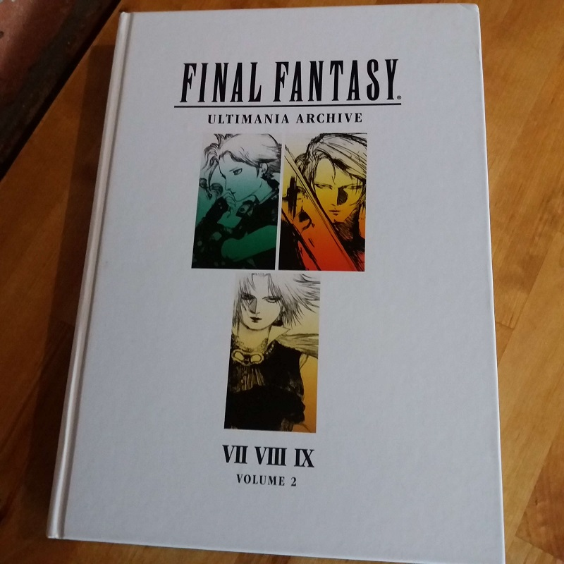 Art of Final Fantasy VII VIII IX