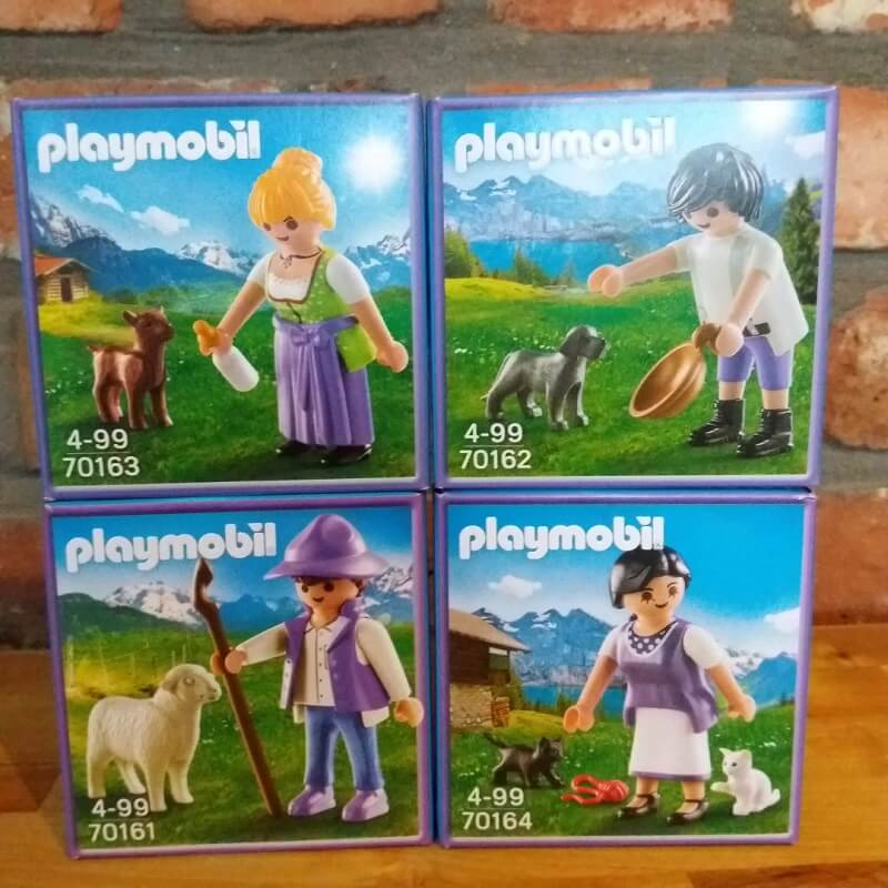 Milka Playmobil boxes
