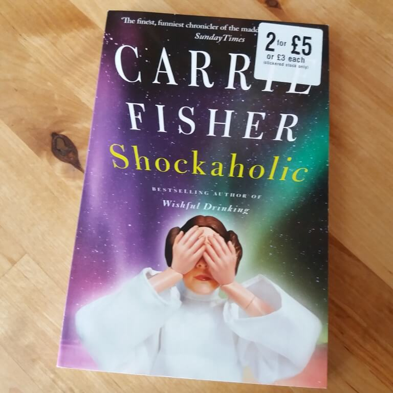 Carrie Fisher Shockaholic book