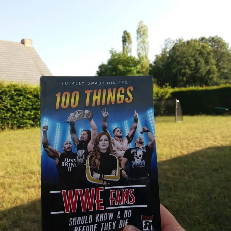 100 Things WWE Fans should do before they die