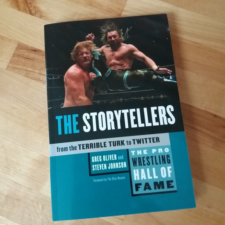 Storytellers pro wrestling Hall of fame