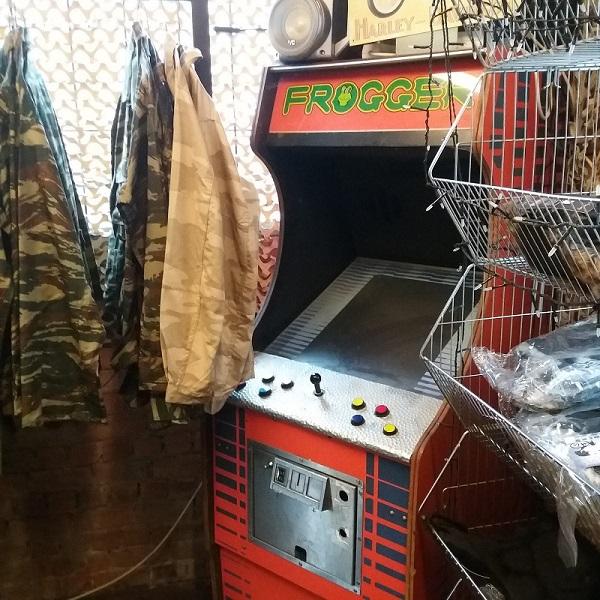 Frogger Arcade Cabinet