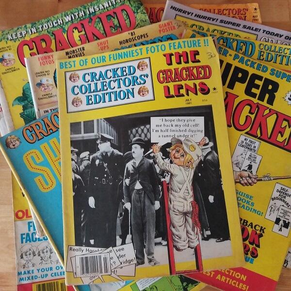 Cracked Magazine 80ies
