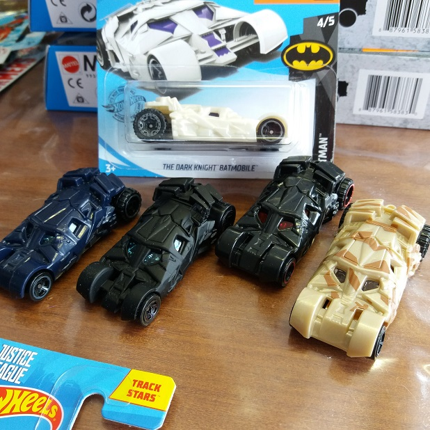 Batmobile Rumbler Hotwheels variant