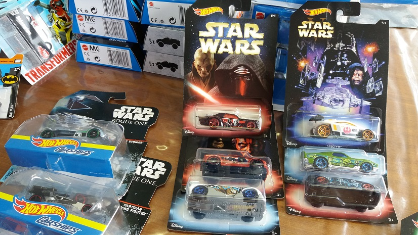 Hotwheels Star Wars Character Cars Rogue One