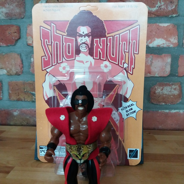 Sho' Nuff Jevaho Creations custom figure The Last Dragon
