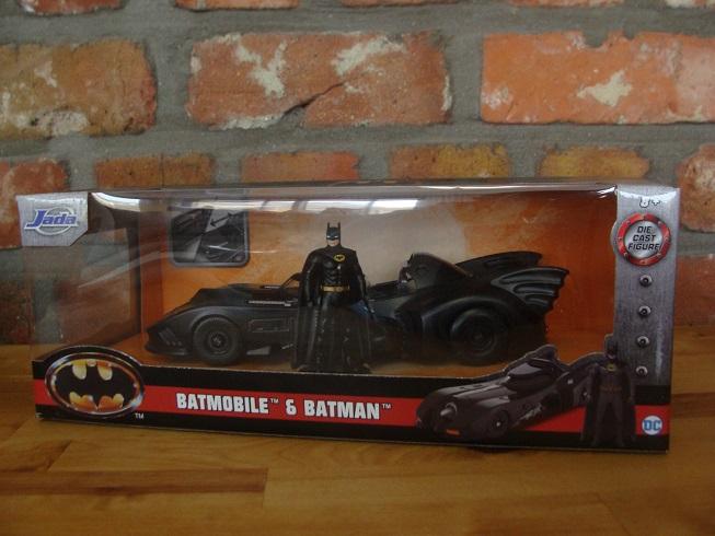Haul Kerstdag 2020 JADA Batmobile Batman Keaton
