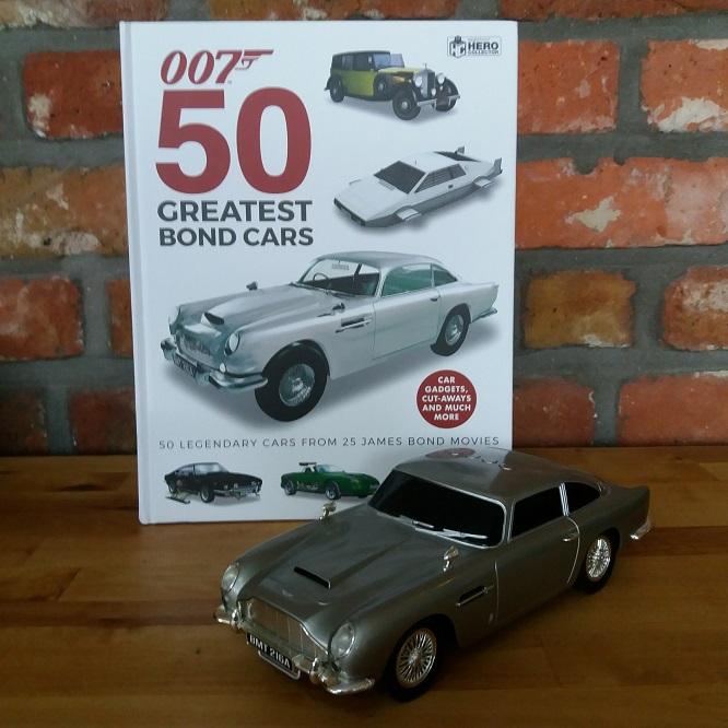 007 50 Greatest Bond Cars