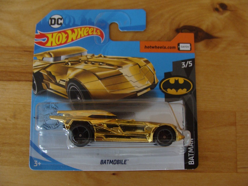 Hotwheels Batmobile Gold