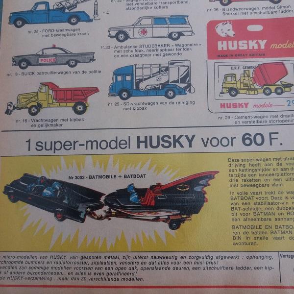 Husky car Batmobile Batboat