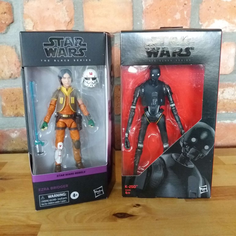 Star Wars Black Series Ezra K2 SO