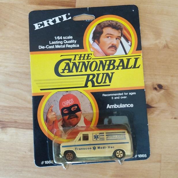 ERTL The Cannonball Run Die Cast Metal replica 1/64