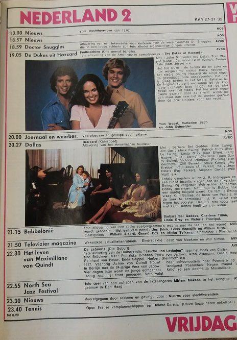 HUMO research televisiegids