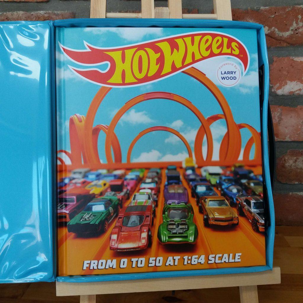 Hotwheels interior book